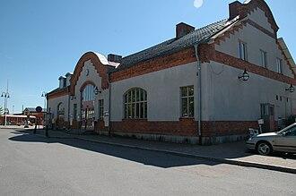 Sandviken Municipality - Sandviken Railway Station