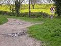 Sandye Lane meets Sandy Lane Byway - geograph.org.uk - 162816.jpg