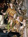 Sankt Wolfgang Kirche - Rosenkranzaltar 3 Raphael mit Tobias.jpg