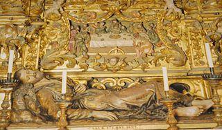 Sant Francesc Xavier jacent