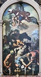 Santa Giustina (Padua) - Chapel of St. Daniel of Padua - Martyrdom of Saint Daniel by Antonio Zanchi