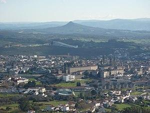Santiago de Compostela view