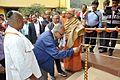Saroj Ghose - Inaugural Lamp Lighting - Swami Akhandananda Science Centre - Ramakrishna Mission Ashrama - Sargachi - Murshidabad 2014-11-29 0331.JPG