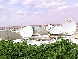 Media of Somalia - Some satellite services in Puntland.