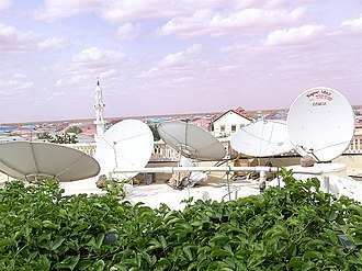 Media of Somalia - Some satellite services in Puntland.
