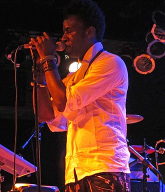 Saul Williams - Saul Williams performing live in 2012