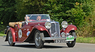 SS 1 - Four-seater tourer made 1933