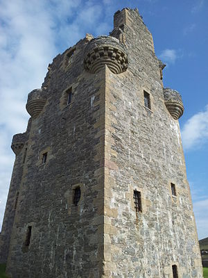 Scalloway Castle - Scalloway Castle in August 2013