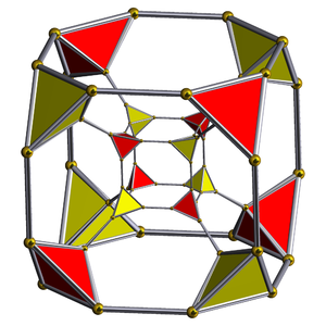 Truncated tesseract - Image: Schlegel half solid truncated tesseract