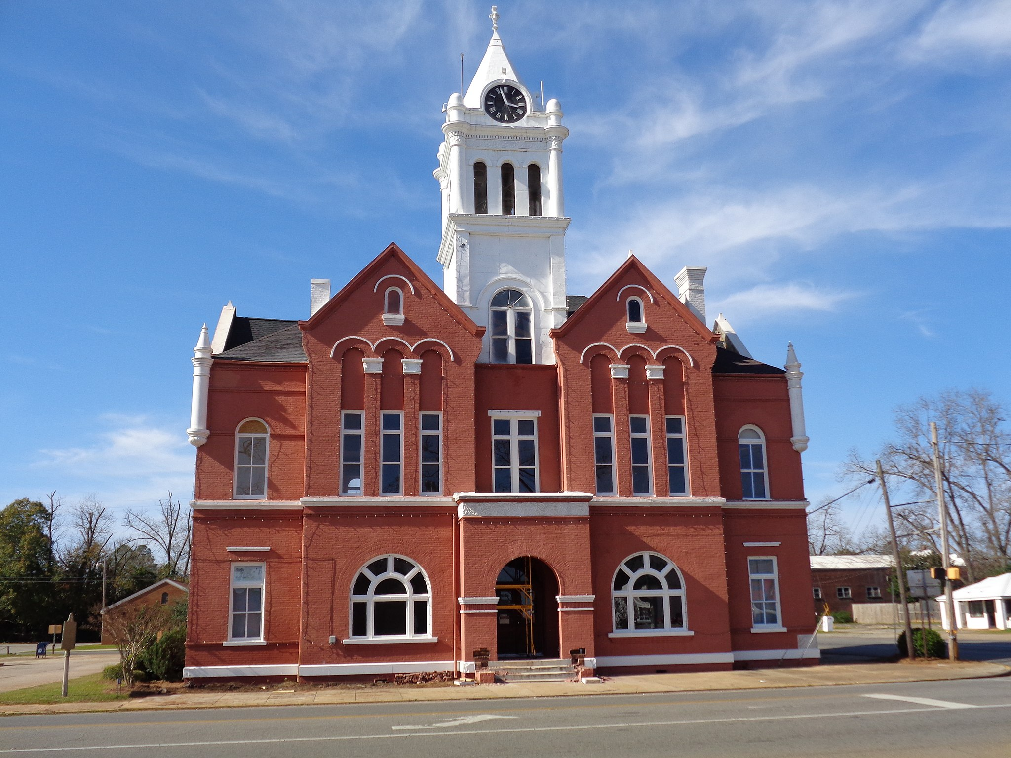 Schley County Courthouse, Ellaville