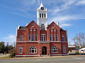 Schley County, Georgia - Image: Schley County Courthouse, Ellaville