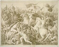 Schnorr von Carolsfeld - Die Schlacht Rudolfs von Habsburg gegen Ottokar von Böhmen.jpg