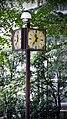 School Campus Clock 時計, Aoyama Gakuin 学校法人青山学院, Tokyo Japan (44852671492).jpg
