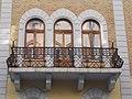Schumy house (1891). Balcony. - 18 Pauler Street, Budapest.JPG