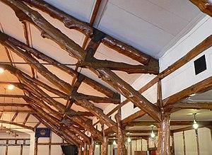 Schuyler, Nebraska - The Oak Ballroom's ceiling beams