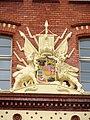 Schwerin Alte Artilleriekaserne Finanzamt Wappen 2012-09-29 026.JPG