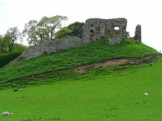 Clan Sutherland - Ruins of Skelbo Castle, Sutherland, former seat of the Sutherlands of Skelbo.