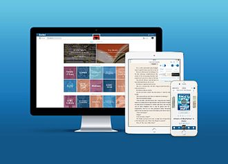 Scribd - Screenshots of Scribd's subscription service