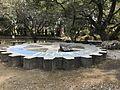 Sculpture of gear in Miyazaki Shrine.jpg