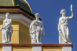 Sculptures on Admiralty Building 05