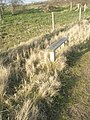 Seat on path from Broad Lake to South Moor - geograph.org.uk - 1217885.jpg