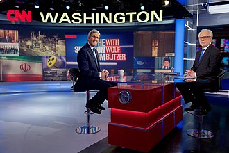 The Situation Room with Wolf Blitzer - Secretary of State John Kerry with Wolf Blitzer.