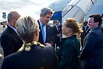 Secretary Kerry Speaks With U.S. Embassy Wellington Deputy Chief of Mission Candy Green in New Zealand (30874168955).jpg