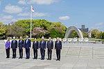 Secretary Kerry Stands With His G7 Counterparts After They Laid Wreaths at Hiroshima Peace Memorial Park (26270770012).jpg