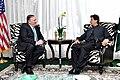 Secretary Pompeo Meets With Pakistani Prime Minister Khan (48357443397).jpg
