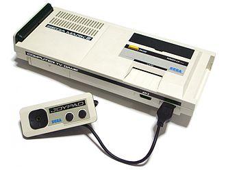 Third generation of video game consoles - Image: Sega Mark III