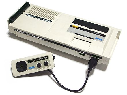 Phantasy Star was originally released on the Master System. (Japanese Mark III model pictured) Sega Mark III.jpg