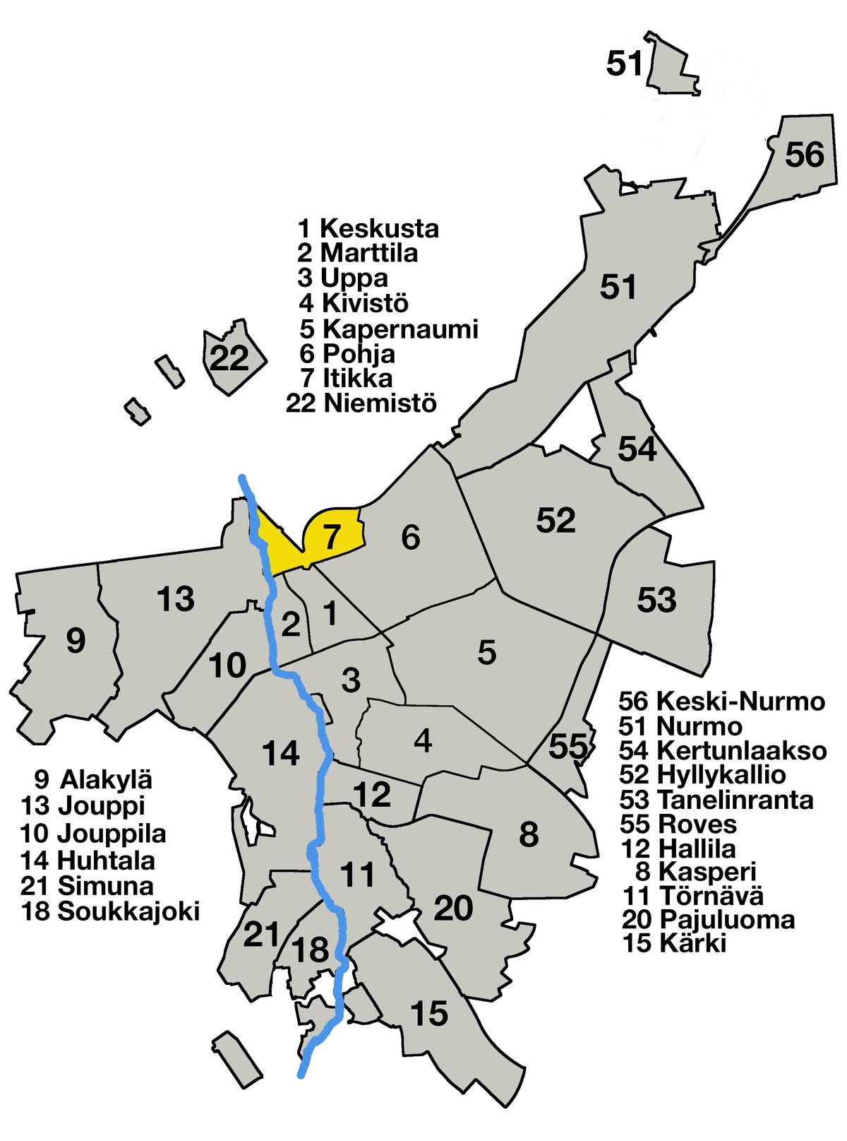 Seinäjoen Keskussairaala Kartta