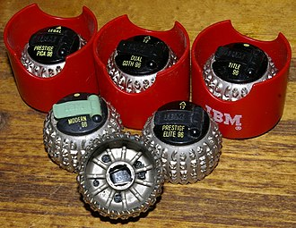 Replaceable IBM typeballs with clip Selectric-iii-balls.jpg