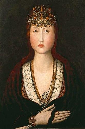 Prince of Portugal - Image: Selige Johanna