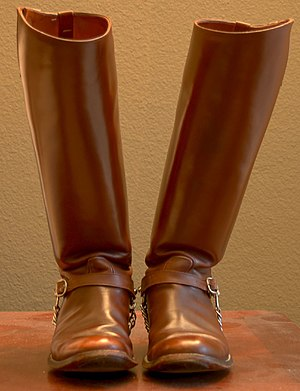 Fightin' Texas Aggie Band - An example of senior Boots, which Dunn tried to eliminate.