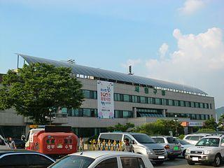 Seowon-gu Non-autonomous District in Hoseo, South Korea
