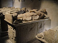Sepulcro de Bermudo III de León. Monasterio de Santa María la Real de Nájera.JPG