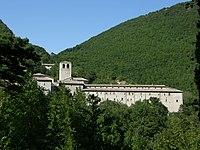 Serra Sant'Abbondio - Monastero di Fonte Avellana, profile.JPG