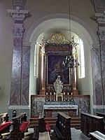 Servitenkirche Innsbruck Kapellenerker Altar.jpg