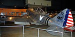 Seversky P-35, National Museum of the US Air Force, Dayton, Ohio, USA. (31225801377).jpg