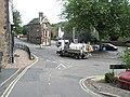 Sewage lorry traversing the Church Hill Roundabout - geograph.org.uk - 1466988.jpg