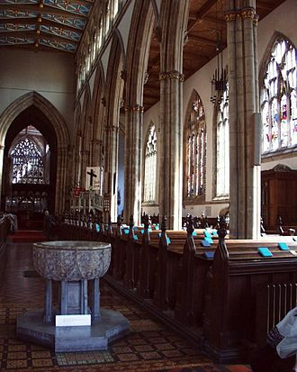 Hull Minster - The font