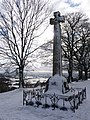 Shaftesbury, the cross in snow - geograph.org.uk - 1153106.jpg