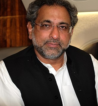 Pakistani general election, 2018 - Image: Shahid Khaqan Abbasi (cropped)