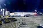 Shandong Airlines 737-800 at Night.jpg