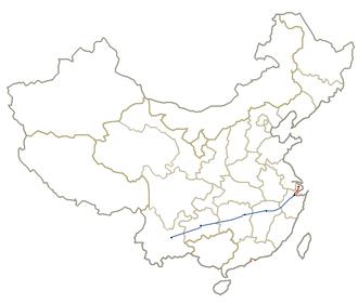 Shanghai–Kunming high-speed railway - Image: Shanghai Kunming Line