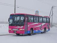 Shari bus Ki200F 0316snow.JPG