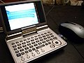Sharp PDA with Logitech mouse 20060904.jpg
