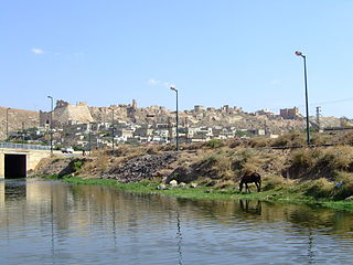 Village in Hama, Syria