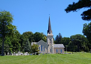 Cockeysville, Maryland - Sherwood Episcopal Church in Cockeysville, founded in 1837